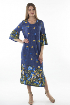 Длинное платье с цветами Bast