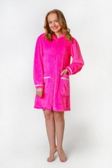 Халат женский АРТ ОЗ-12 розовый Милана